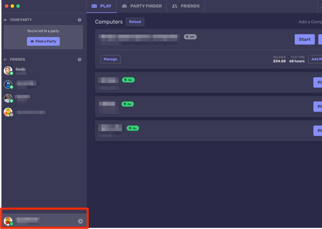 The Networking Tab In Settings – Parsec